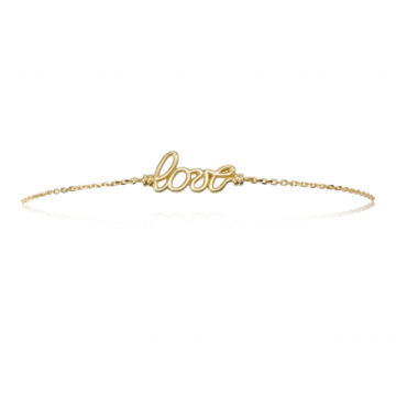 Dolce Love Bracelet in 18ct in Yellow Gold