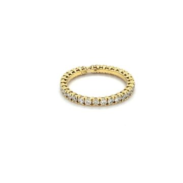 Eve – 18kt Yellow Gold Diamond Eternity Ring
